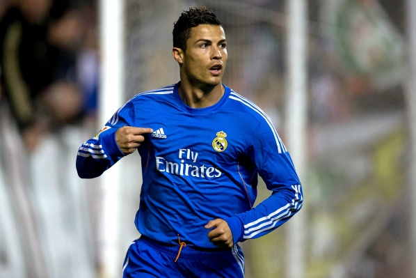 Ronaldo tied the record for most goals scored in the group stage of Champions League