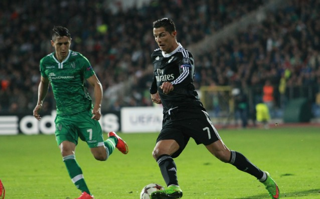 Ancelotti: Ronaldo suffers after the match with Ludogorets