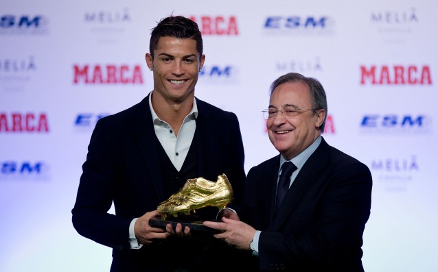 Florentino Perez: Cristiano is a worthy successor of Di Stefano