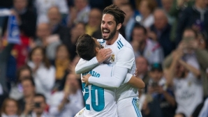Real Madrid reversed the task with classics