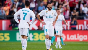 Cristiano and Benzema among the weakest galleys across Europe