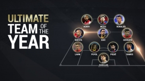 UEFA chose the Ideal Team of the Century