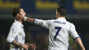 Sergio Ramos:It is with Cristiano that we have a different opinion
