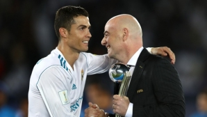 Ronaldo:I always talk on the pitch