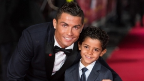 Cristiano Jr.  walked his father`s footsteps (photo)