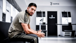 Emre Zhang announced the goal to Juventus
